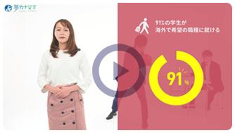 夢カナ留学動画