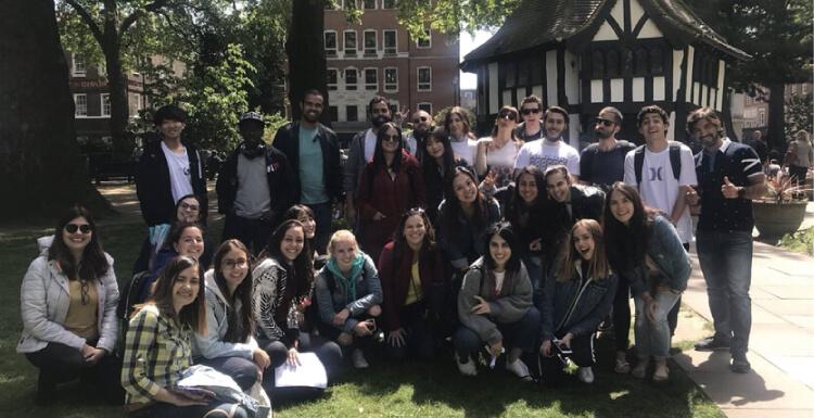イギリスのロンドンへの留学・ワーホリ中の写真